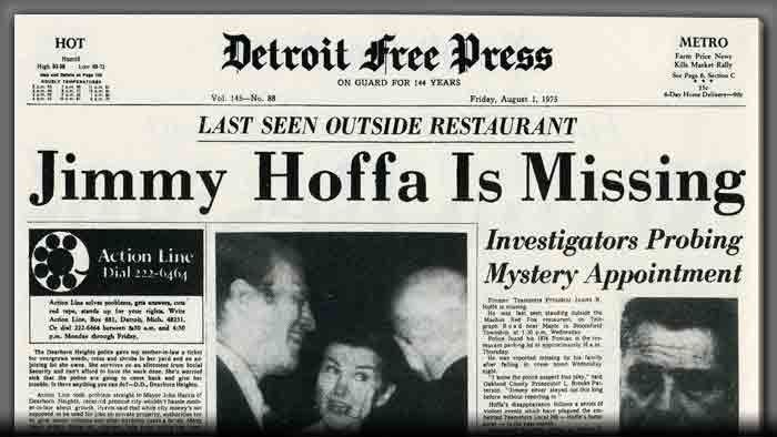 Jimmy Hoffa Found